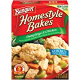 Banquet, Homestyle Bakes, Dumplings & Chicken, 25.7oz Box (Pack of 3) by Banquet