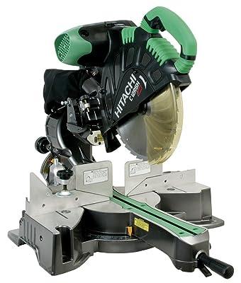 Hitachi C12RSH 15 Amp 12-Inch Sliding Compound Miter Saw with Laser