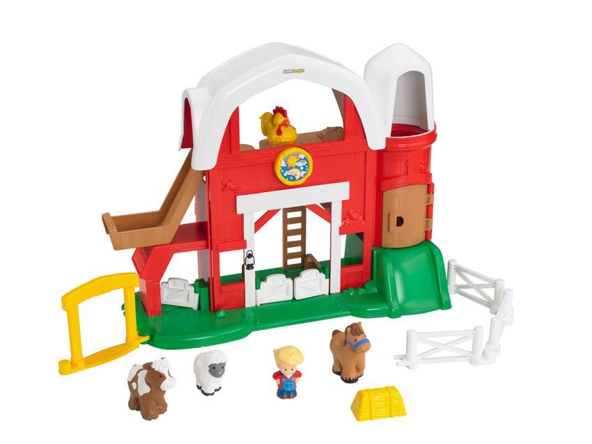 Amazon.com: Fisher-Price Little People Fun Sounds Farm ...