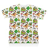Breadwinners: Character Pattern Print Tee - Youth