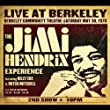 The Jimi Hendrix Experience : Live At Berkeley