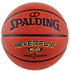 Spalding Never Flat Basketball - Official Size 7 (29.5)