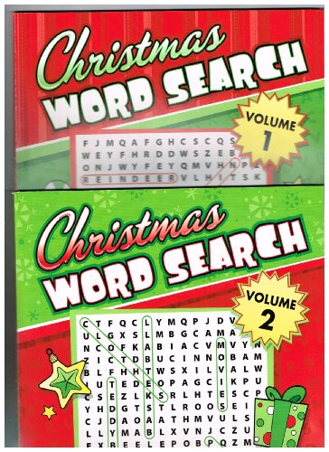 Christmas Word Search 2 Volume Set - 1