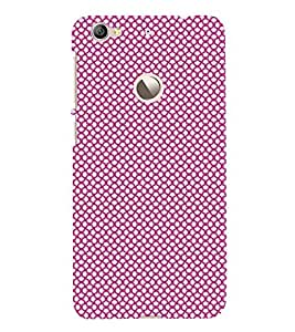 Fuson Premium Back Case Cover Colourful Dotted Pattern With pink Background Degined For Letv Le 1S