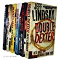 Jeff Lindsay Novel Collection 6 Books Set (Double Dexter, Dexter is Delicious, Dexter by Design, Dexter in the dark, Dearly devoted Dexter, Darkly Dreaming Dexter)