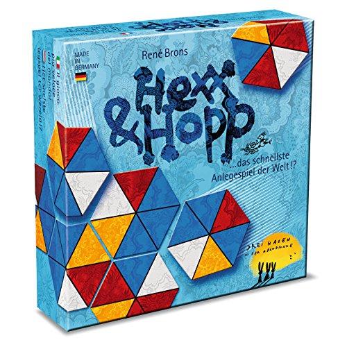 """Drei Hasen in der Abendsonne 608880015 - Gioco da tavola """"Hexx und Hopp"""""""