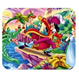 Classic Cartoon Peter Pan Design Custom Rectangle Mouse Pad