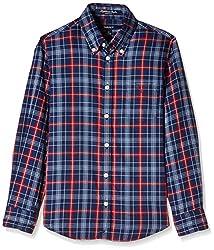 Gant Boys' Shirt (GBSZ0001_Multicolor_M)