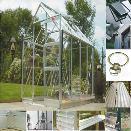 High Eave Greenhouse Package 6' 3