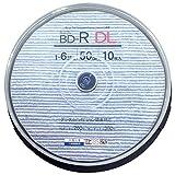 Amazon.co.jpGood-J ブルーレイディスク BD-R DL ビデオ用(50GB) 片面2層 1回録画用 1-6倍速 ホワイトプリンタブル(ワイドプリント対応) 10枚 スピンドルケース GJBDL50-6X10PW