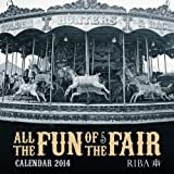 Flame Tree Publishing RIBA All the Fun of the Fair wall calendar 2014