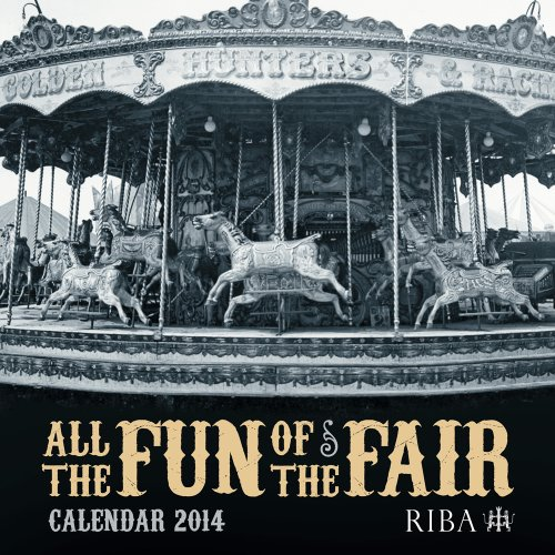 RIBA All the Fun of the Fair Wall Calendar 2014