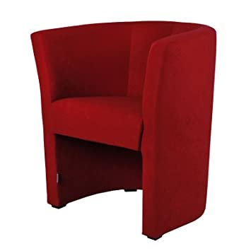 sessel clubsessel loungesessel cocktailsessel rot w266 13. Black Bedroom Furniture Sets. Home Design Ideas