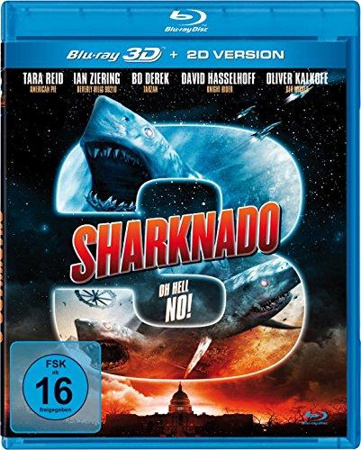 Sharknado 3 - Oh Hell No! (Real 3D inkl. 2D Version) [Blu-ray]