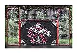 EZGoal-Monster-Steel-Tube-Heavy-Duty-Official-Regulation-Folding-Metal-Hockey-Goal-Net-6-x-4-Feet-Red