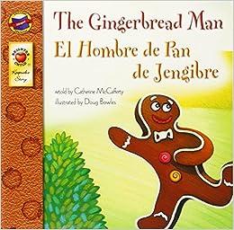 The gingerbread man el hombre de pan de jengibre keepsake for Hombre de jengibre
