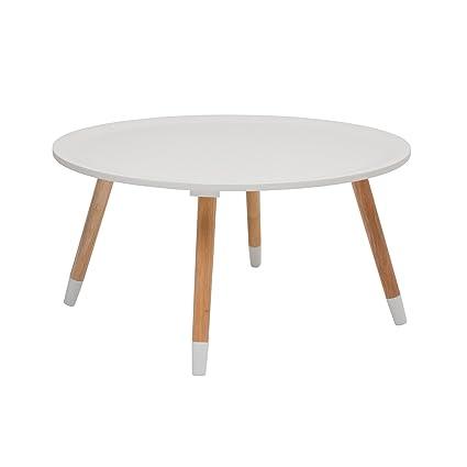 KARE Design, Tavolino da caffè, Bianco (weiß), 70 cm