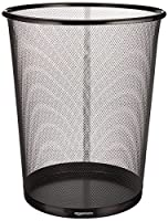 AmazonBasics Mesh Wastebasket from Amazonbasics