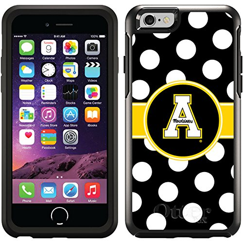 Appalachian State Designs On Black Otterbox® Symmetry Series® Case For Iphone 6