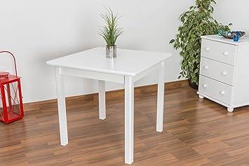 Tisch 80x80 cm, Farbe: Weiß