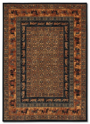 Old World Classics Collection Pazyrk / Burnished Rust RugCouristan Rug 16603066022811U