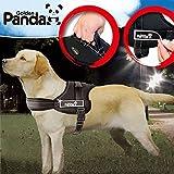 PAWZ Roadペット用品 大型犬 ハーネス 安全ハーネス 咳き込み軽減  胴輪  ブラック XL
