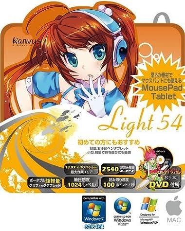 KEIAN Kanvusペンタブレット Light 54 KANVUS LIGHT 54