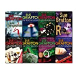 Sue Grafton Kinsey Millhone Mystery Series Collection 8 Books Set, (D is for Deadbeat, B is for Burglar, V is for Vengeance, E is for Evidence, R is for Ricochet, I is for Innocent, Q is for Quarry and L is for Lawless)