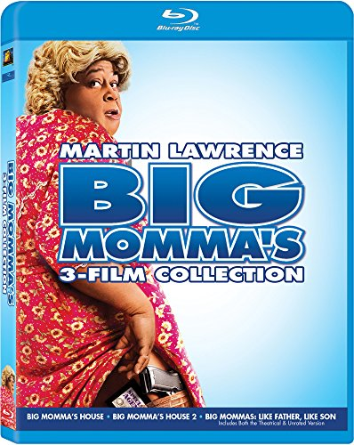Big Momma's 3-Film Collection (Big Momma's House / Big Momma's House 2 / Big Momma's: Like Father, Like Son) [Blu-ray]