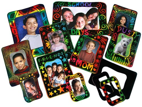 Scratch-Art Classroom Packs Scratch-Art Photo Frames Group Pack