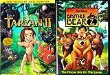 Tarzan II , Brother Bear 2 : Walt Disney 2 Pack Collection