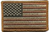 Tactical USA Flag Patch - Subdued Red White Blue