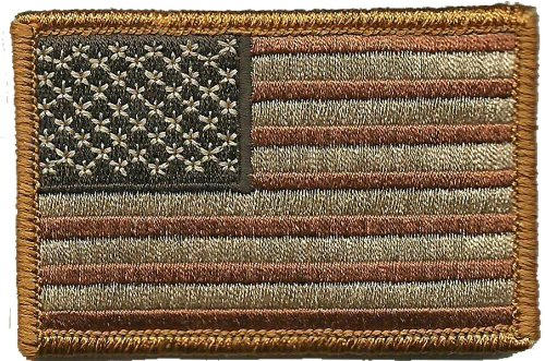 Tactical USA Flag Patch - Subdued Red White Blue by Gadsden and Culpeper