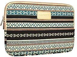 Dachee New Bohemian Style Canvas Fabric 13 Inch Laptop Sleeve Macbook / Macbook Pro / Macbook Air Sleeve Case Dell / Hp /Lenovo/sony/ Toshiba / Ausa / Acer /Samsun Ultrabook Bag Cover