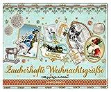 Image de Stickerbuch - Zauberhafte Weihnachtsgrüße: 248 geprägte Aufkleber