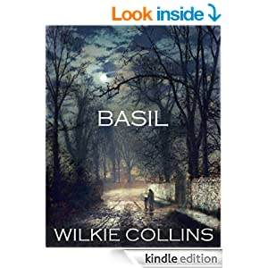 classic Wilkie Collins BASIL (illustrated)