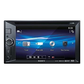 "Sony XAV-65 Vidéo Embarquée Récepteur DVD avec écran LCD 15,7 cm (6,2"") Noir"