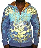 CHRISTIAN AUDIGIER by Ed Hardy Mens Eagle Snake Tattoo Sweatshirt Hoodie Hooded Shirt