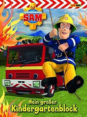 Feuerwehrmann Sam Kindergartenblock: Mein großer Kindergartenblock