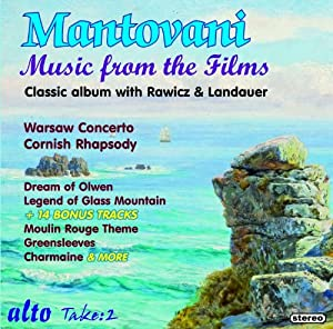 Mantovani Music From The Films With Rawicz Lan by Alto