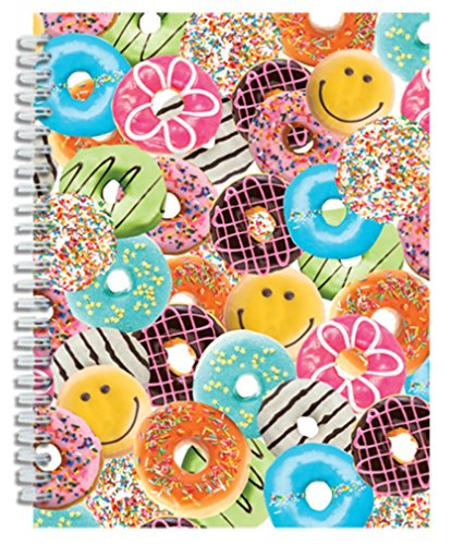 iscream 'Happy Donuts' 3D Spiral-Bound Journal - 1