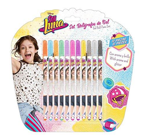 Soy Luna - Set con 12 bolígrafos (Safta 311626785)