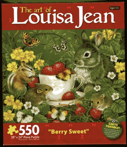 "The Art of Louisa Jean ""Berry Sweet"" 550 Jigsaw Puzzle"
