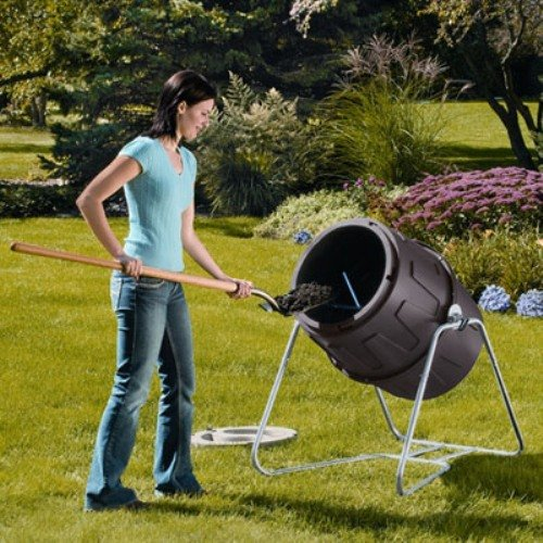 Suncast TCB6800 6.5 Cubic Foot Tumbling Composter