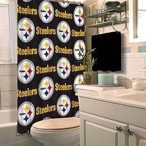 Pittsburgh Steelers Shower Curtain Steelers