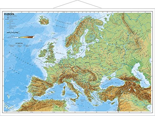 Europa physisch, Buch