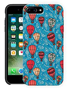 """Humor Gang Hot Air Balloons Pretty Printed Designer Mobile Back Cover For """"Apple Iphone 7 Plus"""" (3D, Matte, Premium Quality Snap On Case)"""