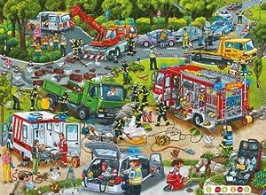 Ravensburger 00554 - tiptoi: Puzzlen, Entdecken, Erleben: Im Einsatz (ohne Stift), 100 Teile