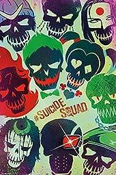 Suicide Squad Movie Art 24x36 Poster