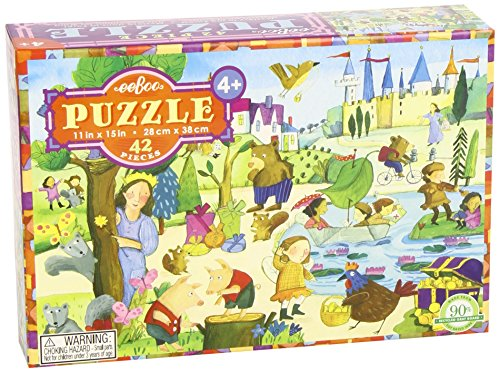 Eeboo Mystery in the Forest Jigsaw Puzzle, 42 Pieces